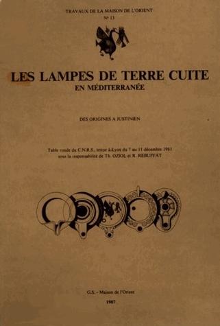 Les lampes de terre cuite en m diterran e maison de l 39 orient et de la m diterran e jean pouilloux - Maison de la mediterranee ...