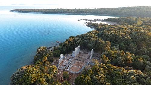 Site archéologique de Martinscica, Croatie © S. Bully
