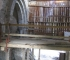 Doue (43), abbaye de prémontrés : étude des transformations de l'église et des bâtiments abbatiaux en exploitation agricole (XIXe-XXe) © N. Reveyron, laboratoire ArAr.